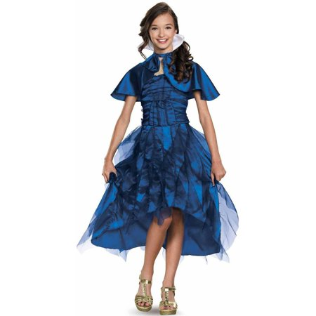 Disney The Descendants Evie Coronation Deluxe Child Halloween Costume (Disney Magic Kingdom Halloween Tickets)