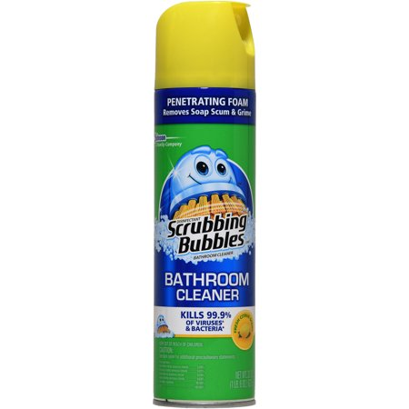 Scrubbing Bubbles Antibacterial Lemon Bathroom Cleaner, 22 ...