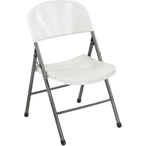 Mainstays Resin Chair, White