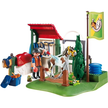 Playmobil Horse Trailer - PLAYMOBIL Horse Grooming Station