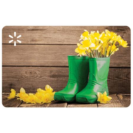 Green Boots Walmart eGift Card