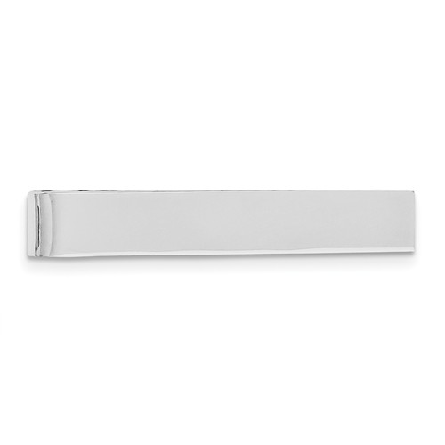Sterling Silver Engravable Tie Bar