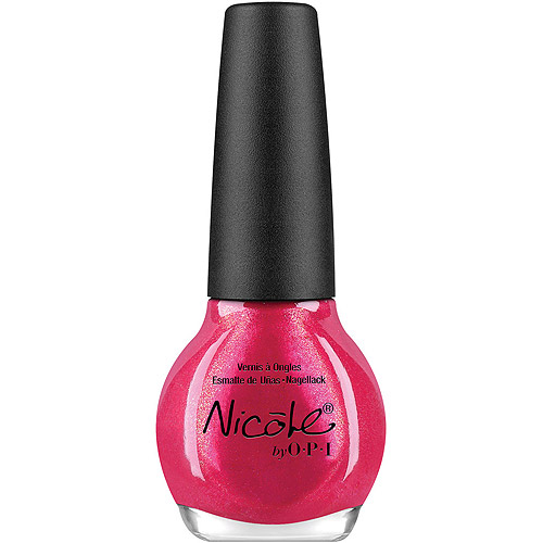 Nicole by OPI Nail Lacquer, Scarlett, 0.5 fl oz