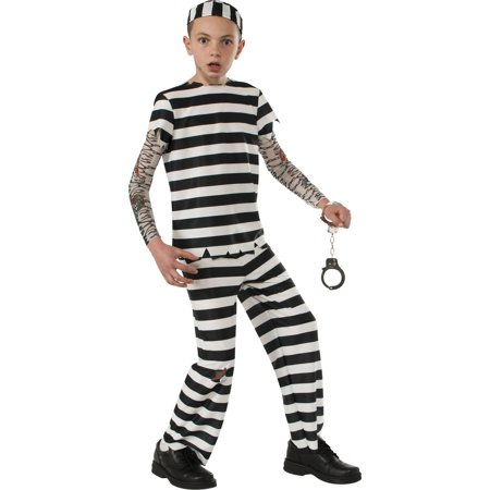 Convict Child Halloween Costume