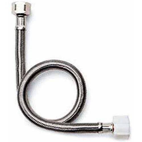"""Fluidmaster B4T16 1/2"""" x 7/8"""" x 16"""" Braided Stainless Steel Toilet Connectors"""