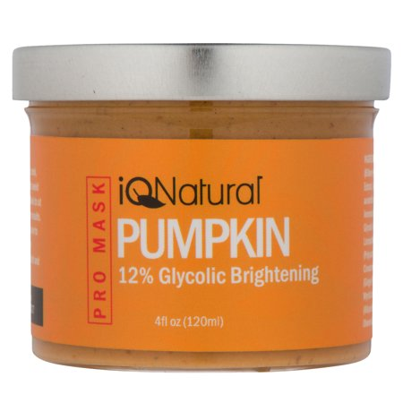 Organic Pumpkin Enzyme Facial Peel Mask with 12%Glycolic Acid by iQ (Pumpkin Finial)