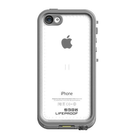 official photos 44e1e 8caa1 LifeProof nuud Case for Apple iPhone 5C, Black/Clear