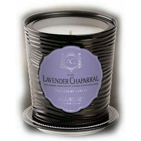 - LAVENDER CHAPARRAL Tin 11oz Aquiesse Portfolio  Scented Soy Candle
