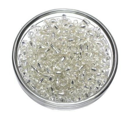 Cousin Silver E-Beads, 40g