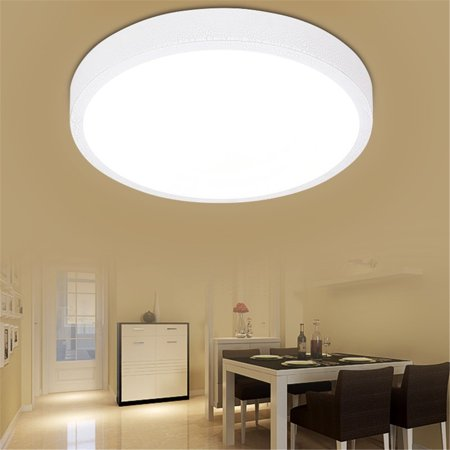 12w Round Ceiling Mount Lights Bedroom Hanging Lamp Home Room