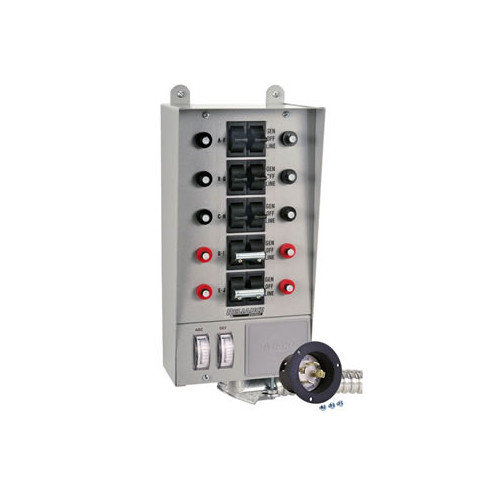 Reliance Controls Pro / Tran 30 Amp Transfer Switch with 10 Circuit