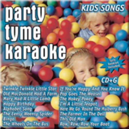 Party Tyme Karaoke: Kids Songs (CD)](Top 20 Halloween Songs Of All Time)