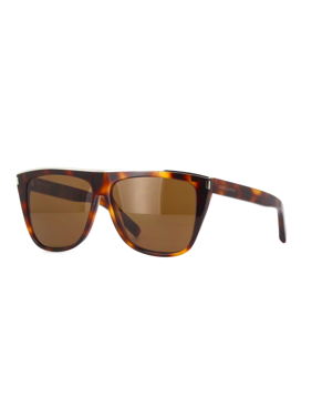 Saint Laurent SL 1 COMBI-003 Havana Rectangle Sunglasses