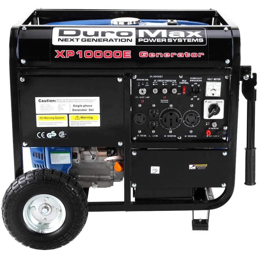 DuroMax 10000W Electric Start Generator