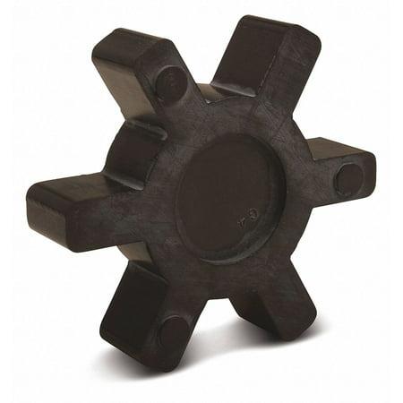 - L090/L095 Buna N Jaw Coupling Insert, Rated Torque: 144 in.-lb., Max. RPM: 9000