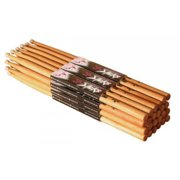 on stage ahw5a 12 pairs - ahw5a 12 pairs of 5a american hickory drum stick with wood tips