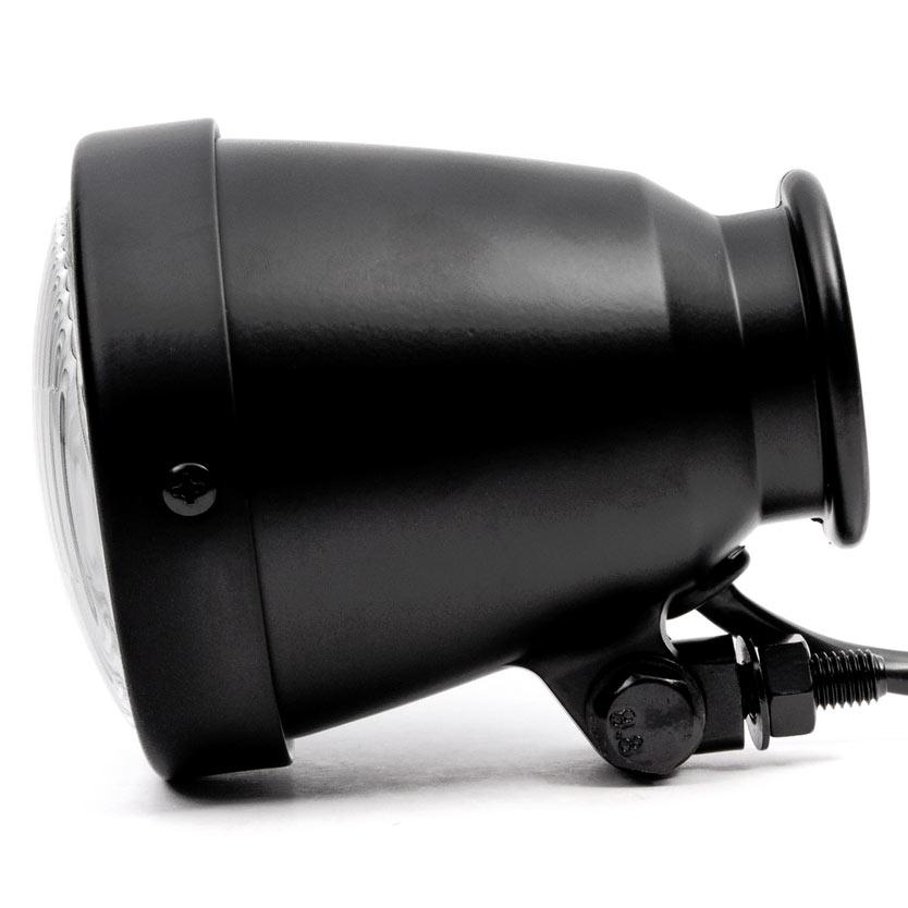 "Krator 4.25"" Mini Headlight w/ High and Low Beam + Fog Lights LED Bulb Black Housing for Yamaha Raider S XV 1900 XV1900 - image 5 de 8"