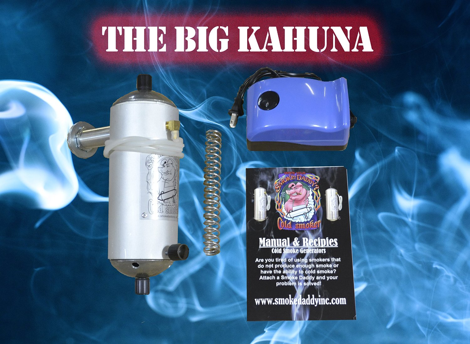 Smoke Daddy Big Kahuna Cold Smoke Generator Uses Your Choice of ...