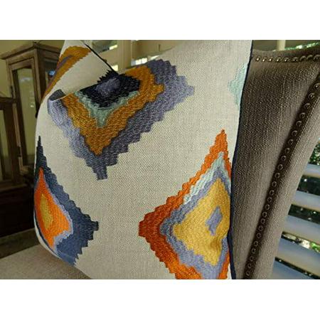 "Plutus Native Trail Cayenne Handmade Throw Pillow, (18"" x 18"") - image 3 de 4"
