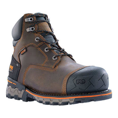 "Men's Timberland PRO Boondock 6"" Waterproof Composite Safety Toe Boot by Timberland"