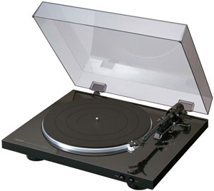 Denon DP-300F Dealer Re-Certified Automatic Turntable by Denon