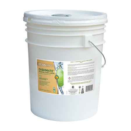 DishMate Manual Dishwashing Liquid, 5 gallons, Pear fragrance Dishwashing Liquid Gallon