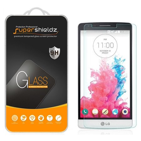 [1-Pack] Supershieldz for LG G3 Beat Tempered Glass Screen Protector, Anti-Scratch, Anti-Fingerprint, Bubble Free ()