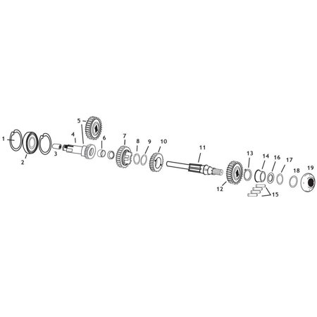 Andrews 254720 Mainshaft C Ratio Main Drive Gear