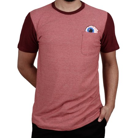 Flame Pocket - Modern Culture Graphic Pocket Tee Flame
