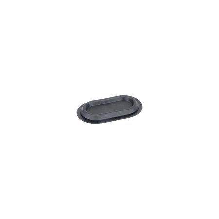 MACs Auto Parts Premier  Products 48-14488 Ford Pickup Truck Rubber Plug - For Firewall - Oval 1.375 X2.875 - F100 Thru F350
