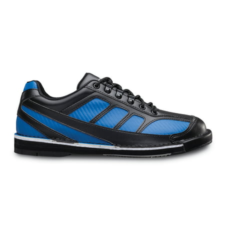 Brunswick Mens Phantom Bowling Shoes Left Hand- Black/Royal 09 1/2
