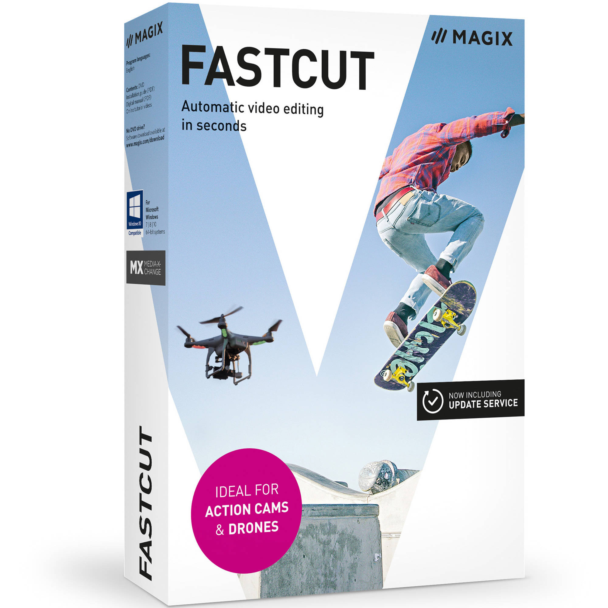 Magix Software ANR005294ESD Magix Fastcut ESD (Digital Code)