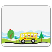 Carson-Dellosa, CDP150008, PreK-5 Self-Adhesive School Bus Name Tags, 40 / Pack, Assorted