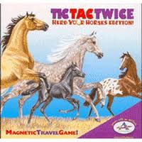 Image of Game-Tic Tac Twice: Herd Your Horses Travel Edition (2+ Players)