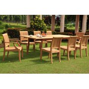 Dining Table Patio Set For 8