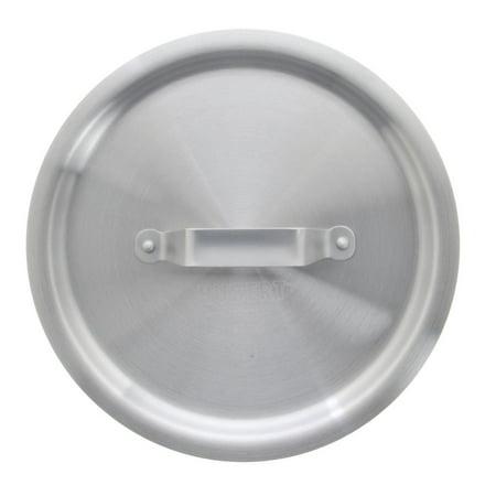 HUBERT Lid Cover for 8 Quart Stock Pot Aluminum - 9 4/5 Dia