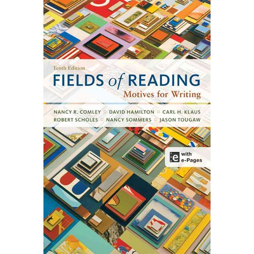 Fields of reading motives for writing
