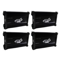 LANZAR 2000W 4 Channel Car Digital Amplifier Power Amp Stereo MOSFET (4 Pack)