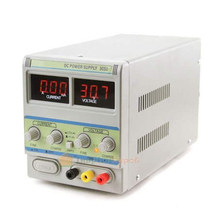 XtremePowerUS 110/220V Metal LED DC Power Supply with Probe Cable ()