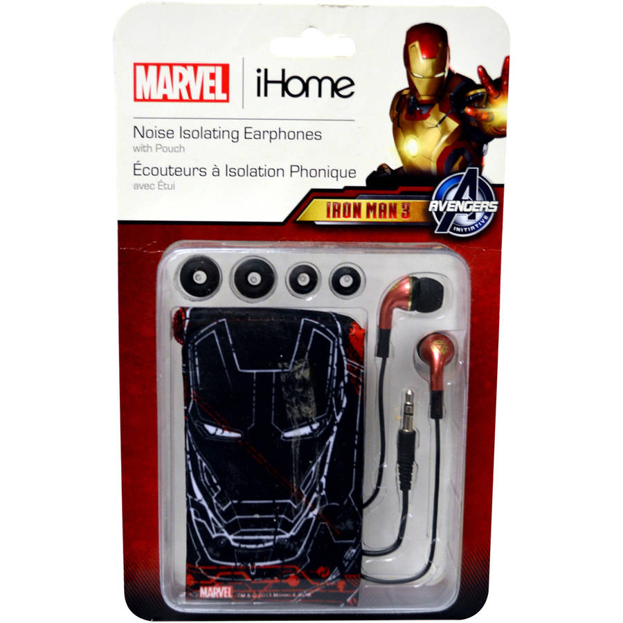eKids Iron Man 3 Noise-Isolating Earbuds