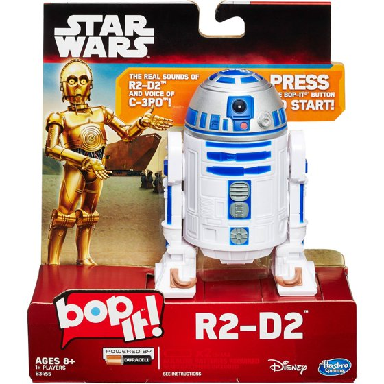 Star Wars Bop It R2 D2 Game Walmart