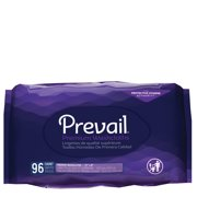 Prevail Premium Quilted Adult Washcloths Refill, 96 count