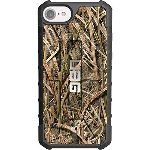 """LIMITED EDITION - Authentic UAG- Urban Armor Gear Case for Apple iPhone 8/7/6/6s (Standard 4.7"""") Custom by EGO Tactical- Mossy Oak"""