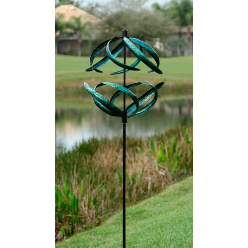 Marshall Home Garden Sphere Garden Stake by Overstock