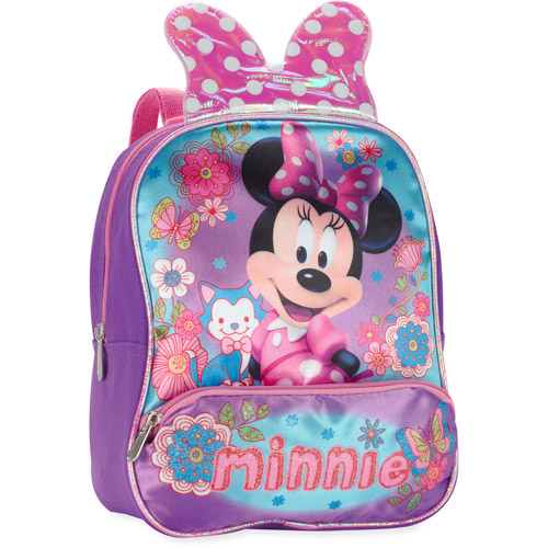 "Minnie Mouse  Bow 10"" Backpack"