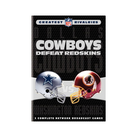 NFL Greatest Rivalries: Cowboys Defeat Redskins (DVD) - Redskin Vs Cowboys