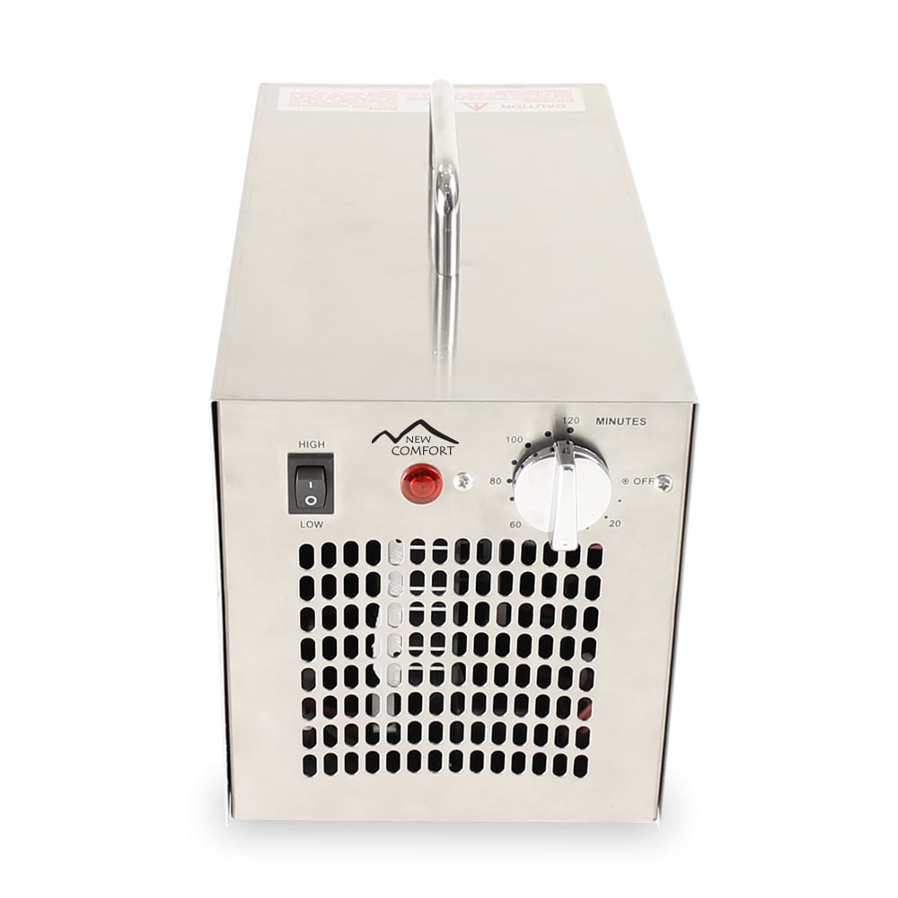 stainless steel commercial uv ozone generator air purifier 7000 mg industrial stregnth new comfort 5 year warranty