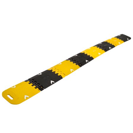 10 ft. Portable Folding Traffic Control Calming Speed Bump
