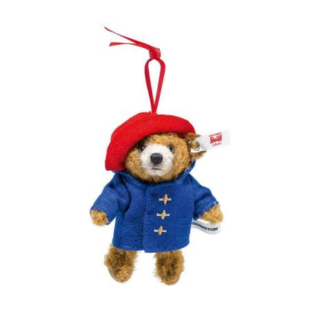Steiff Paddington Teddy Bear Mohair Limited Edition Christmas Ornament #690396