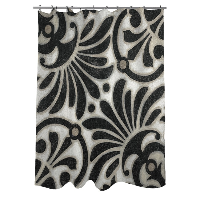 Thumbprintz Moroccan Symbol III Shower Curtain